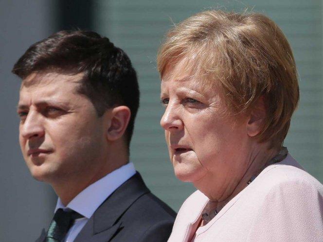 Angela Merkel sufre afectación de salud
