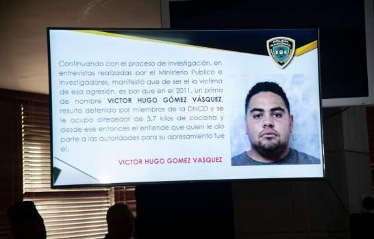Víctor Hugo Gómez, autor del disparo a David Ortiz