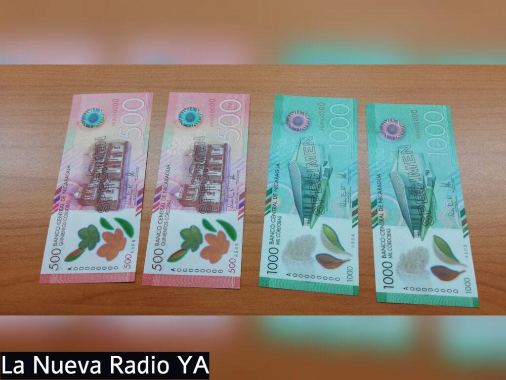 Banco Central de Nicaragua emite nuevos billetes de avanzada tecnología en Nicaragua