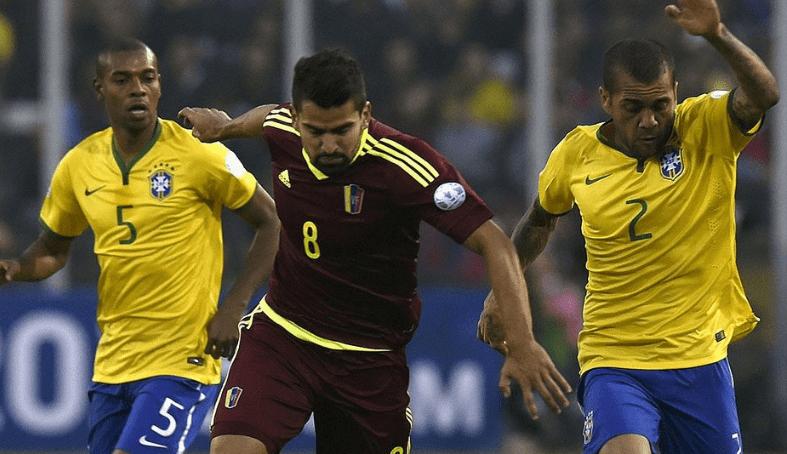 Brasil y Venezuela se juegan su futuro en la Copa América