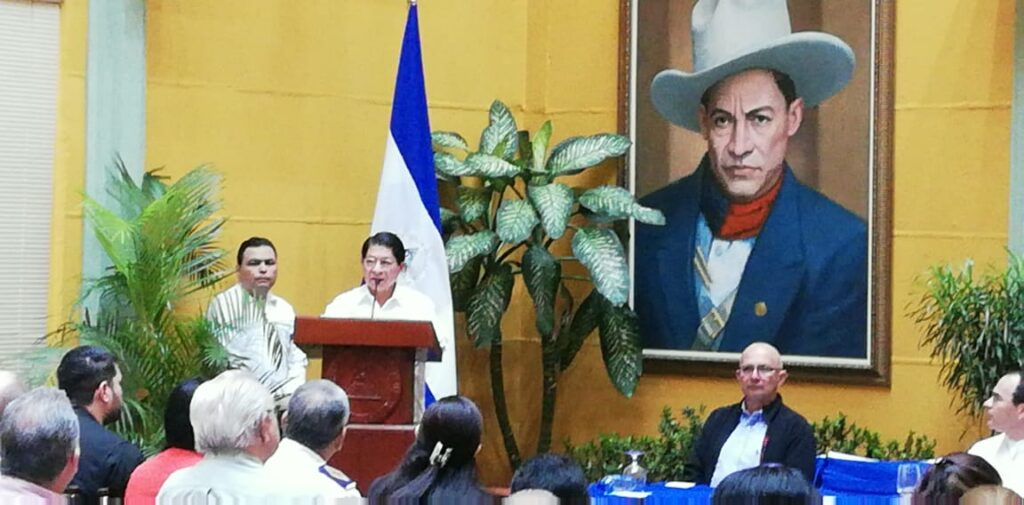 Exponencia del Canciller Denis Moncada Colindres