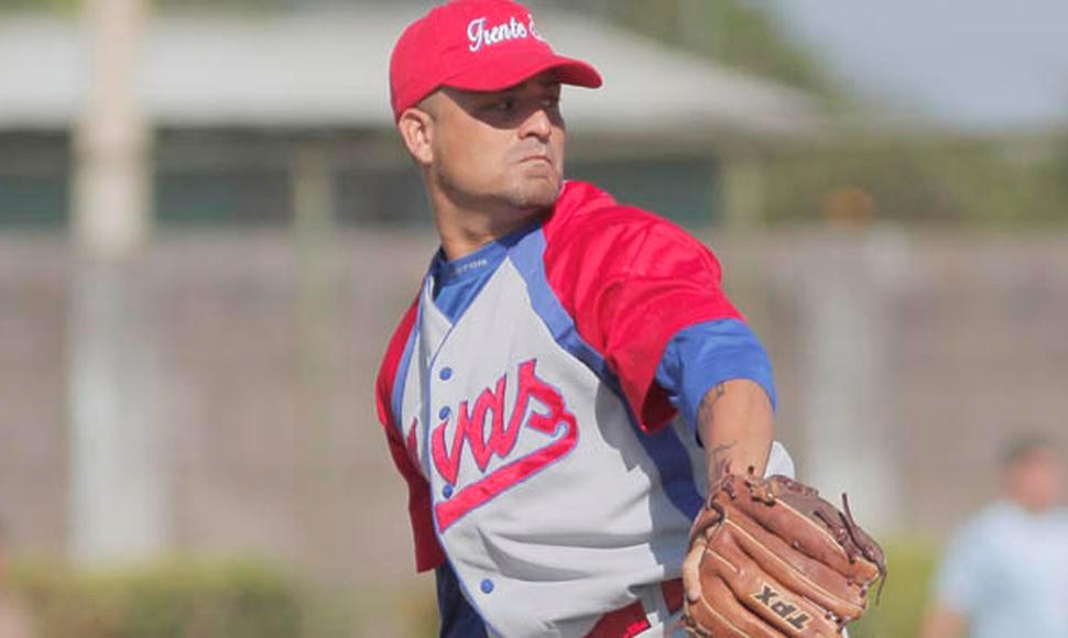 El lanzador nicaragüense Carlos Pérez Estrella