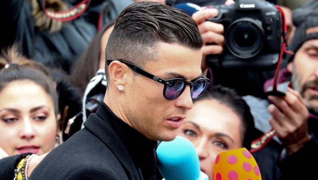 Cristiano Ronaldo, comparece tras ser acusado de violación