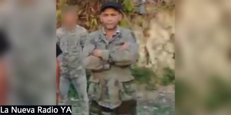 El delincuente Edgard Antonio Montenegro, de 41 años, alias
