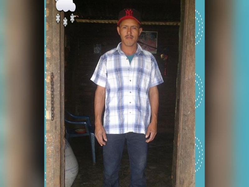 El peón nicaragüense Francisco Cruz Romero