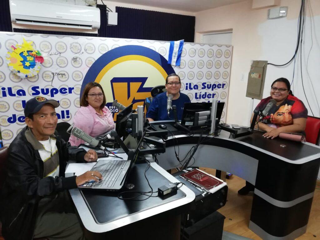Graciela Martínez, hija de Bismarck Martínez, en Tu Nueva Radio YA