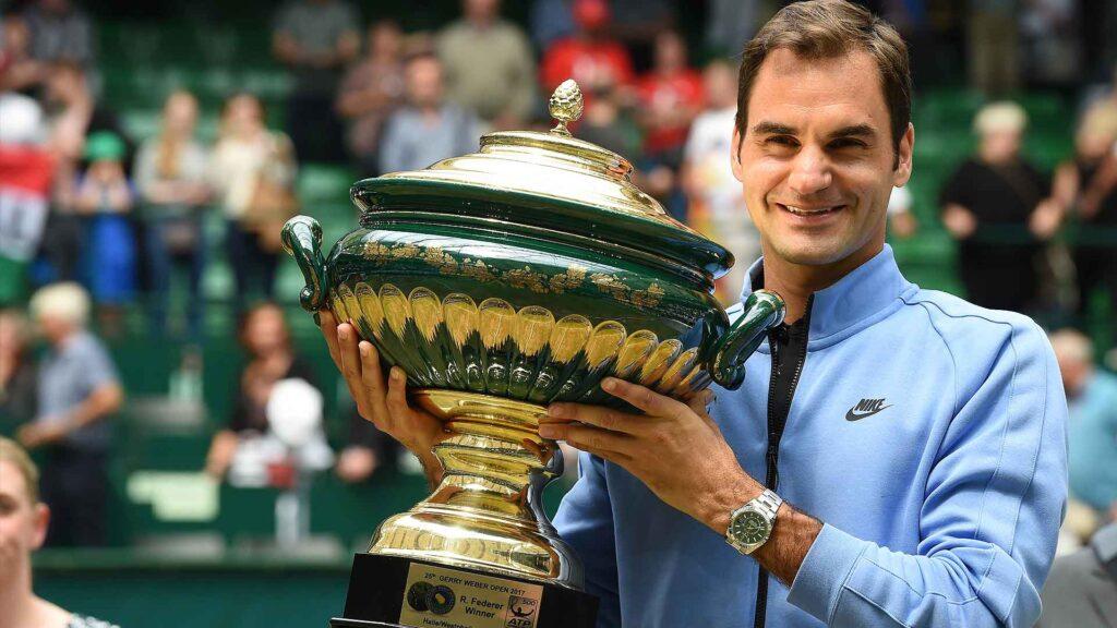 Roger Federer gana en Halle por décima vez