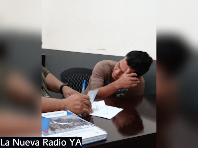 Gustavo Adolfo Mendoza Beteta en el juicio por asaltar a una joven en un taxi en Managua