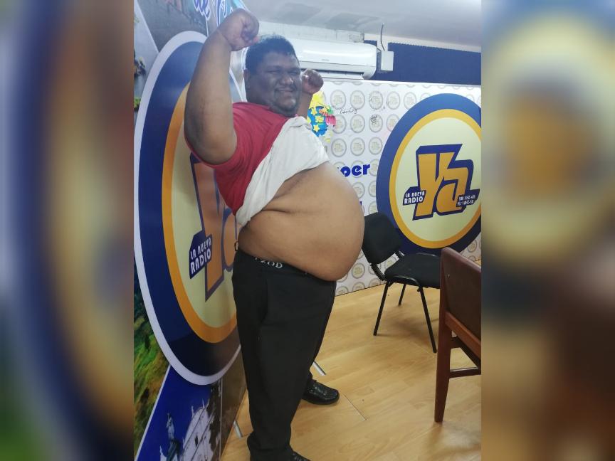 Jonatan Ismael Mendoza Menocal aspira a ser el Papá Panzón