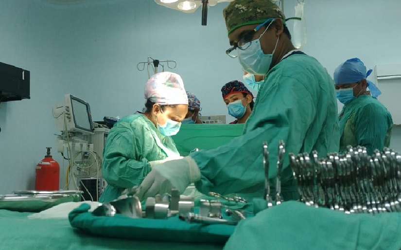 Jornada quirúgica en hospital La Mascota, Managua