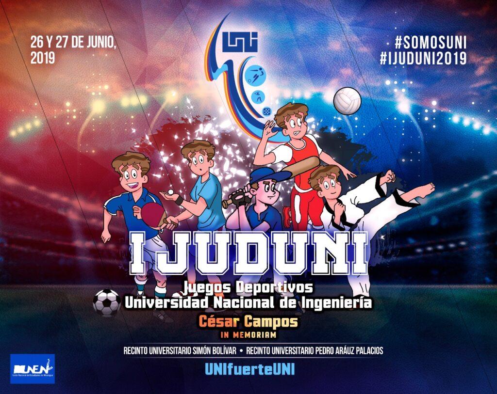 Banner oficial de los Primeros Juegos JUDUNI