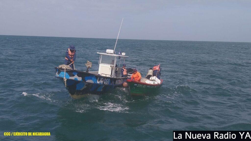 3 tripulantes fueron rescatados frente a las costas del municipio de El Viejo