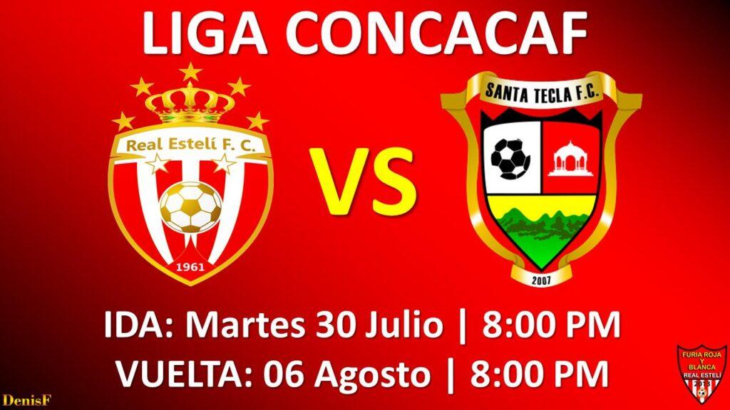Real Estelí FC enfrentará al Santa Tecla FC de El Salvador