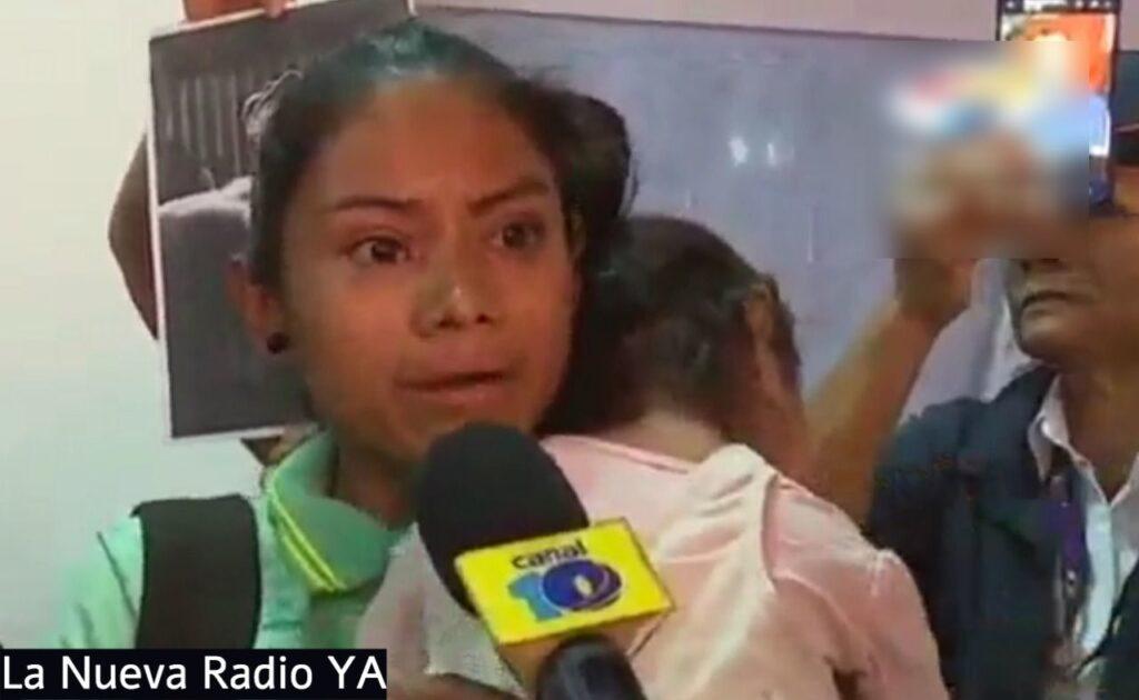 Marbely Leal, esposa del delincuente Gustado Adolfo Mendoza Beteta