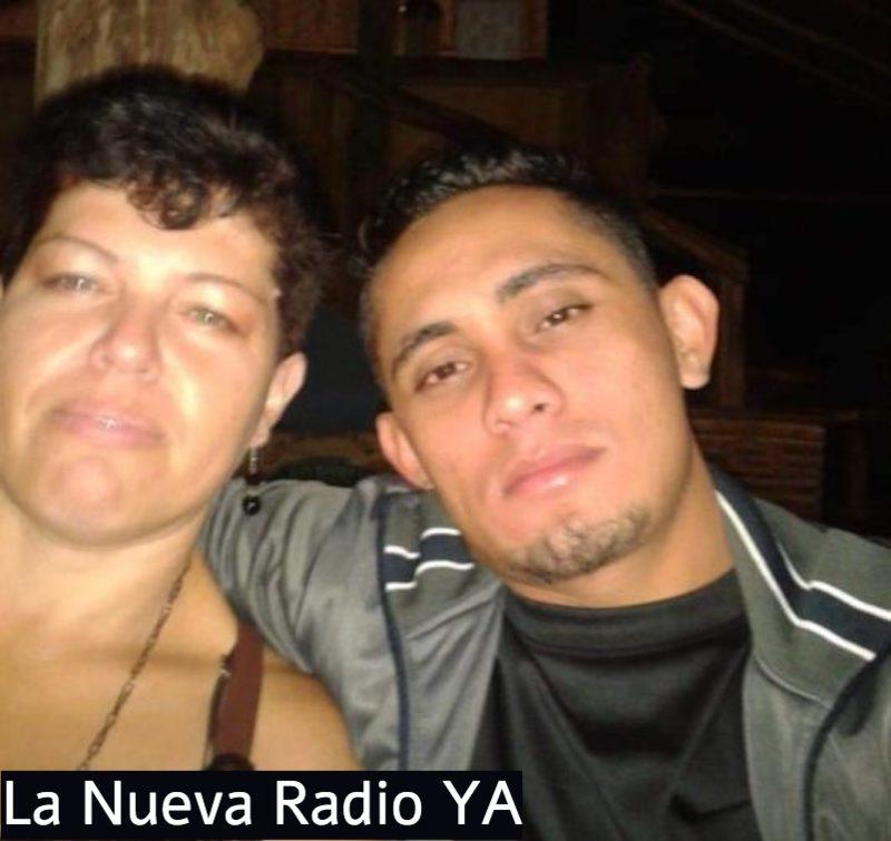 Marco Aurelio Pérez junto a su pareja la nicaragüense Marily Rojas. Foto Cortesía