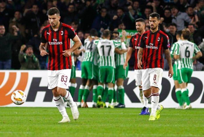 Milán queda fuera de la Liga Europa por violaciones financieras