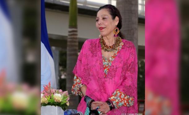 Nicaragua saluda a compañera Rosario Murillo