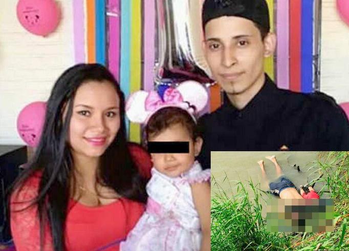 Padre e hija migrantes mueren ahogados