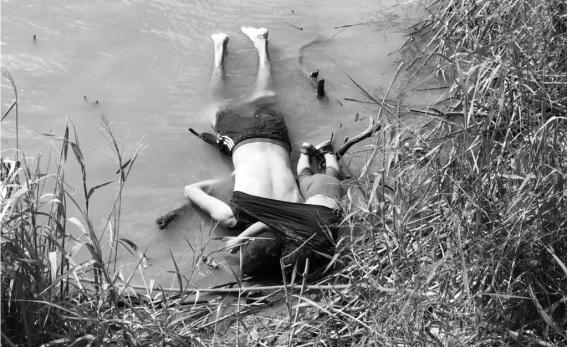 Padre y su hija murieron en Río Bravo