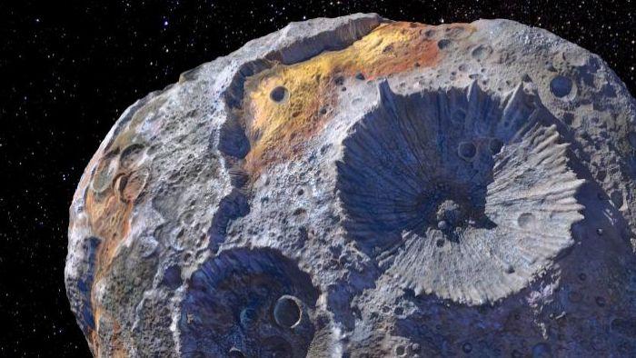 El asteroide Psyche 1 contiene suficientes metales pesados para que todos en la Tierra sean multimillonarios, y la NASA va a su encuentro.