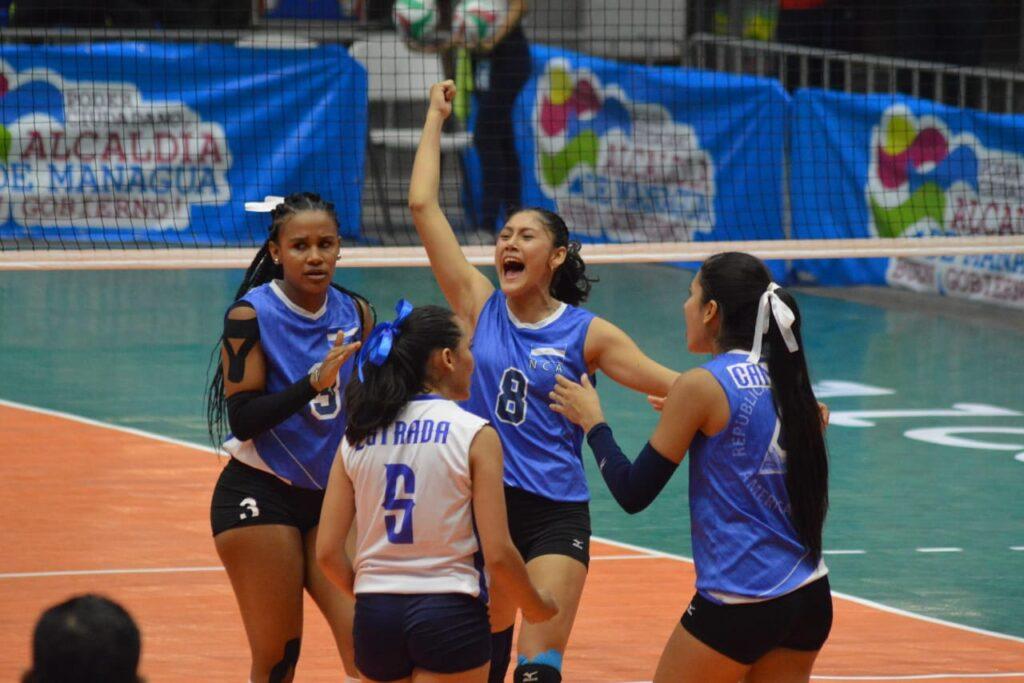 La Selección Sub23 de Voleibol de Nicaragua sigue imbatible