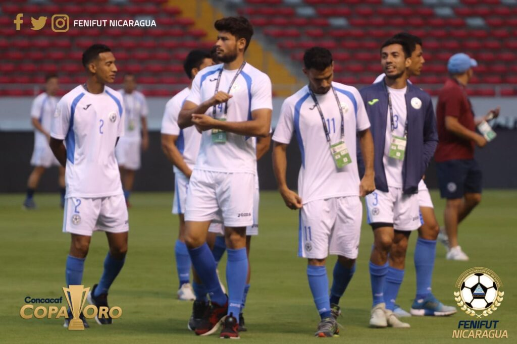 La Selección de Fútbol de Nicaragua tendrá 4 sesiones de entrenamiento