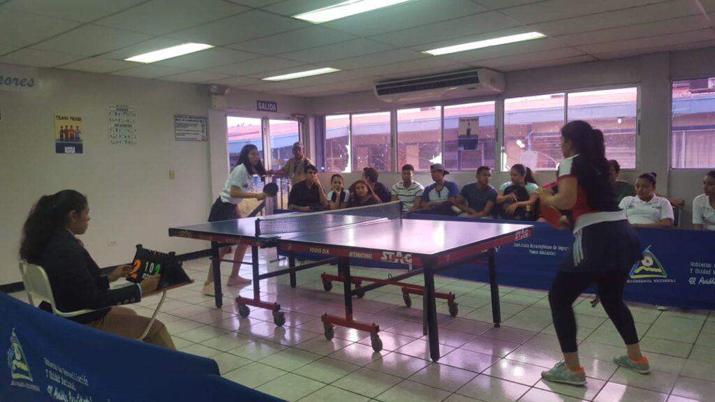 Competencia de Tenis de Mesa
