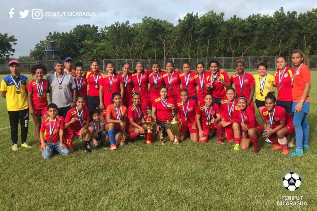 UNAN-Managua Campeón del Torneo Femenino Clausura 2019 de Nicaragua. Foto FENIFUT