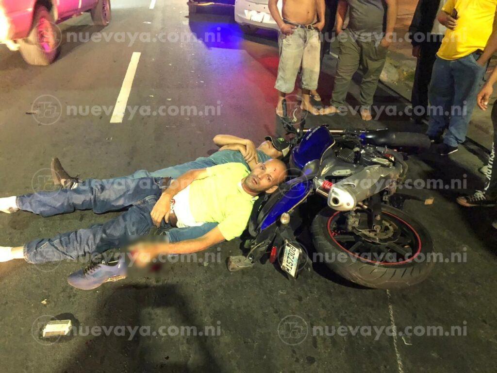 El aparatoso accidente ocurrio en la pista Montoya – Guanacaste, en Managua