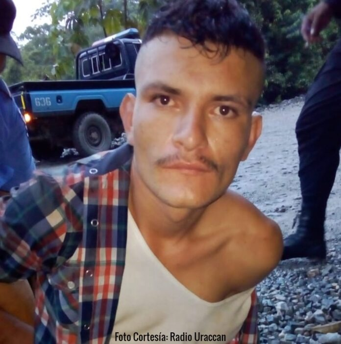 El asesino Yesner Ariel Aguilar García