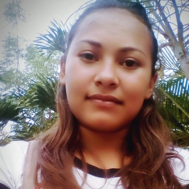 La compañera Nelsy Prado Figueroa