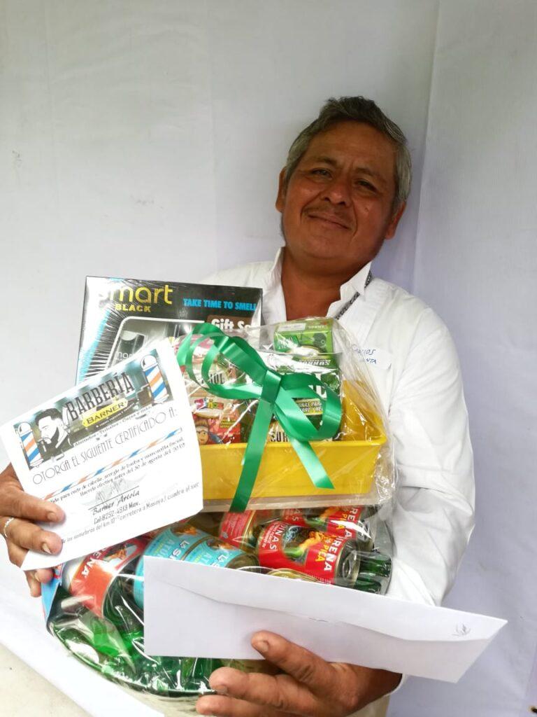 Carlos Iván Valle, ganador del Papa que Canta, Papá Panzón 2019
