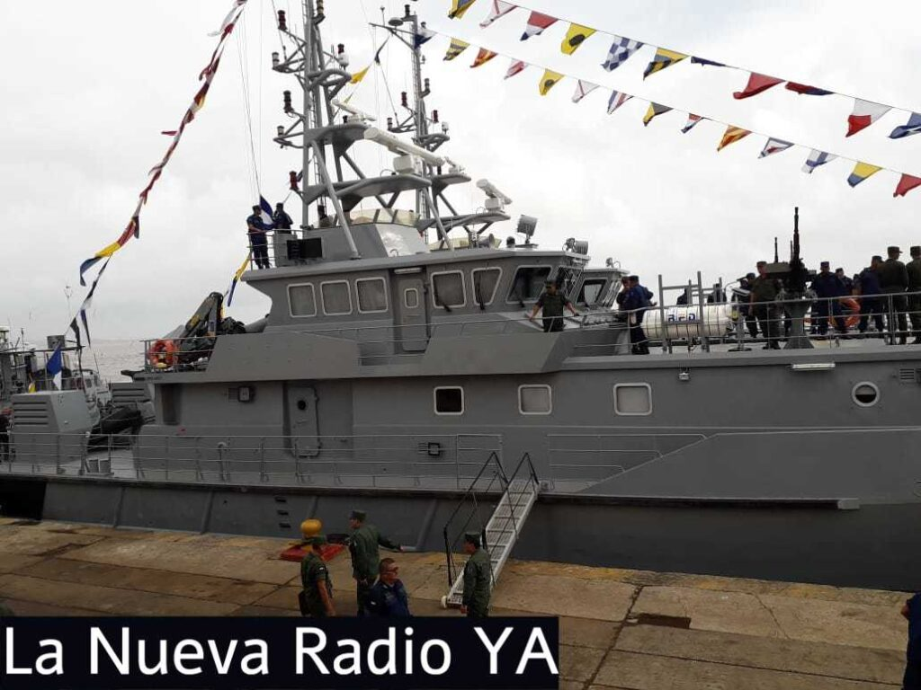 Las corbetas están destinadas a cumplir misiones de defensa de la soberanía en las aguas del Caribe