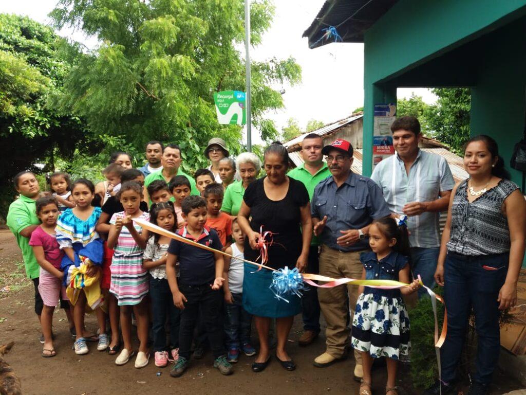 El gobierno sandinista inauguró un sistema de agua potable en Santa Lucía de Boaco