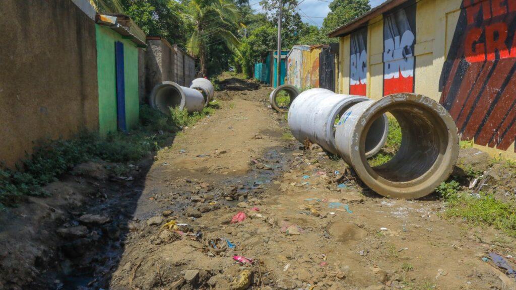 Se conectarán 300 metros de drenaje pluvial con el cauce Fanabasa