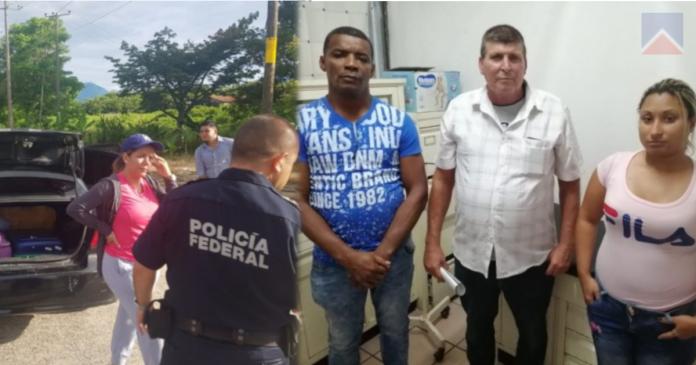 Una nicaragüense fue detenida junto a tres inmigrantes en México. Foto cortesía