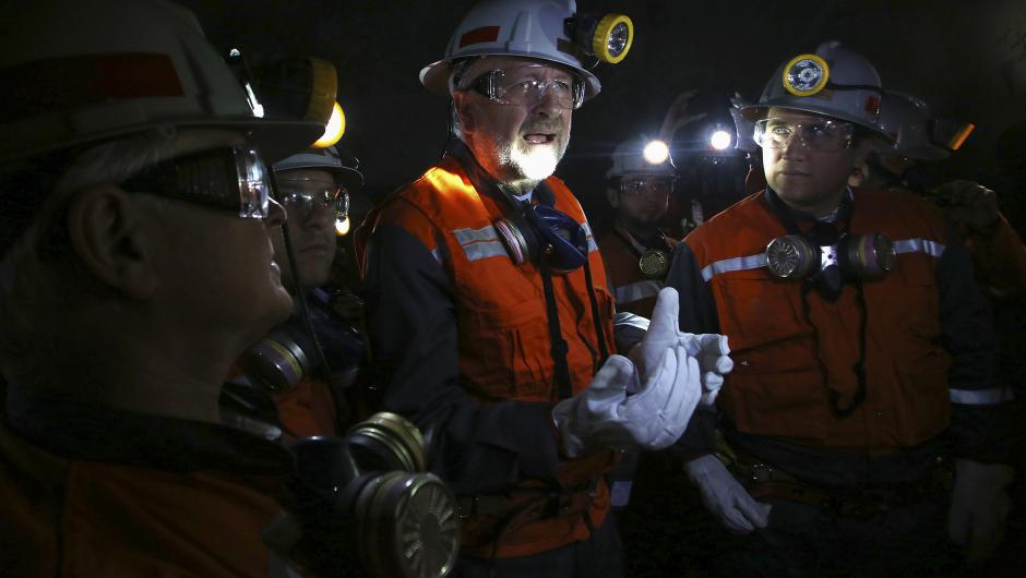 Baldo Prokurica, ministro de Minería de Chile.