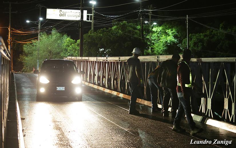 Puente Saratoga, carretera nueva a León