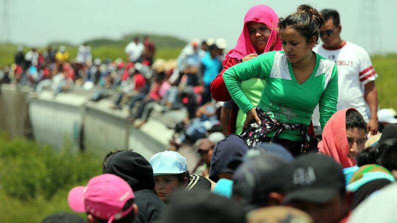 Tren la bestia en México