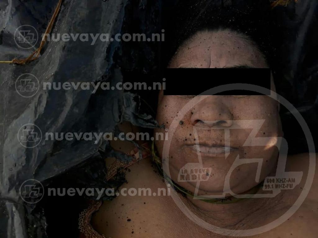 Como Gloria Hermenegilda Zeledón Canda fue identificada la mujer encontrada en el Lago de Granada