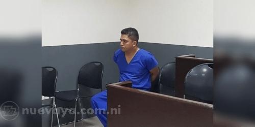 Noel Antonio Luna Pérez fue remitido a juicio: Foto Cortesía