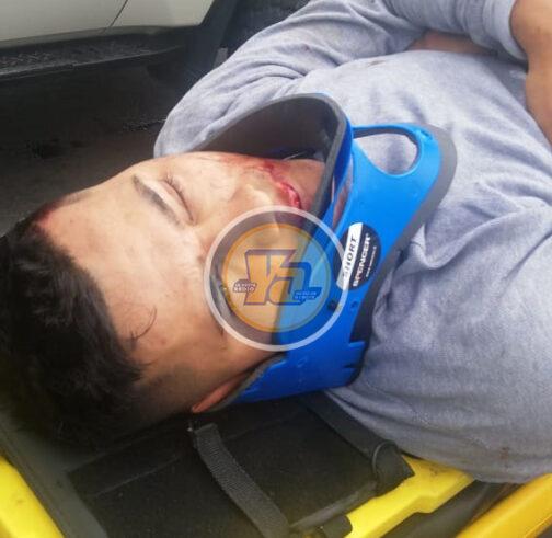 Accidente Franklin Sequeira