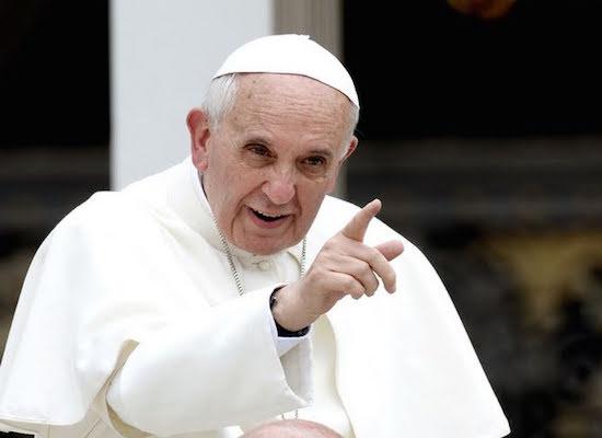 carta con balas enviada al papa francisco