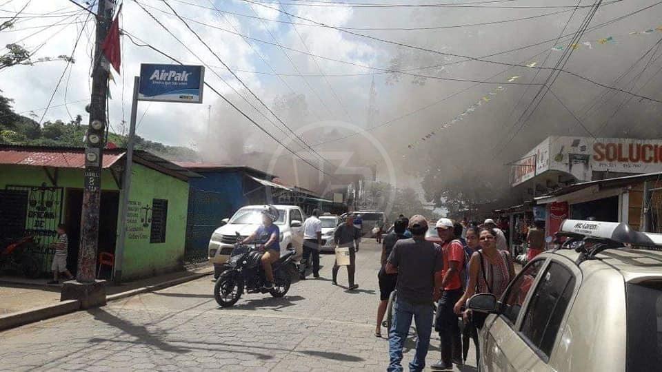 El incendio afortunadamente no dejó víctimas
