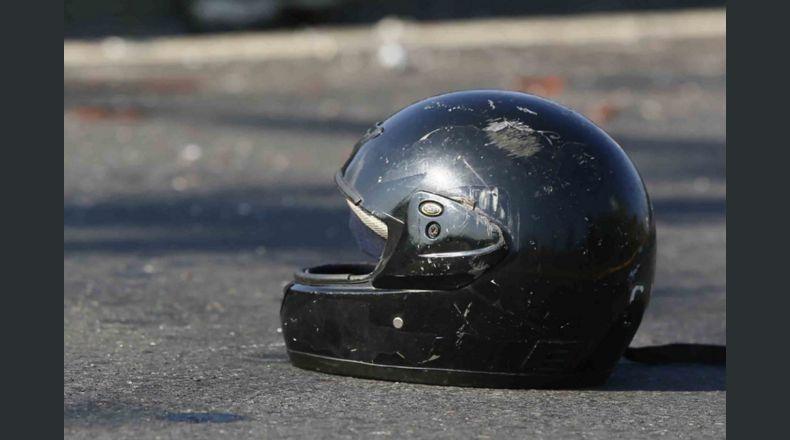 Motociclista fallecido/ Foto referencial