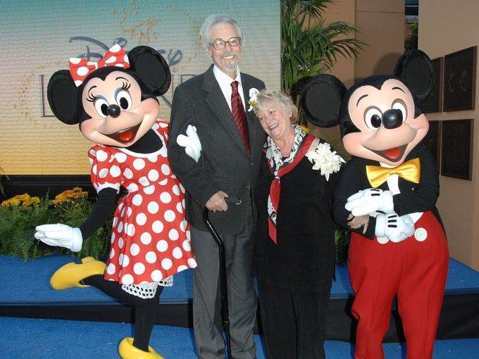 Los esposos Wayne Allwine y Russi Taylor, las voces de Mickey Y Minnie Mouse