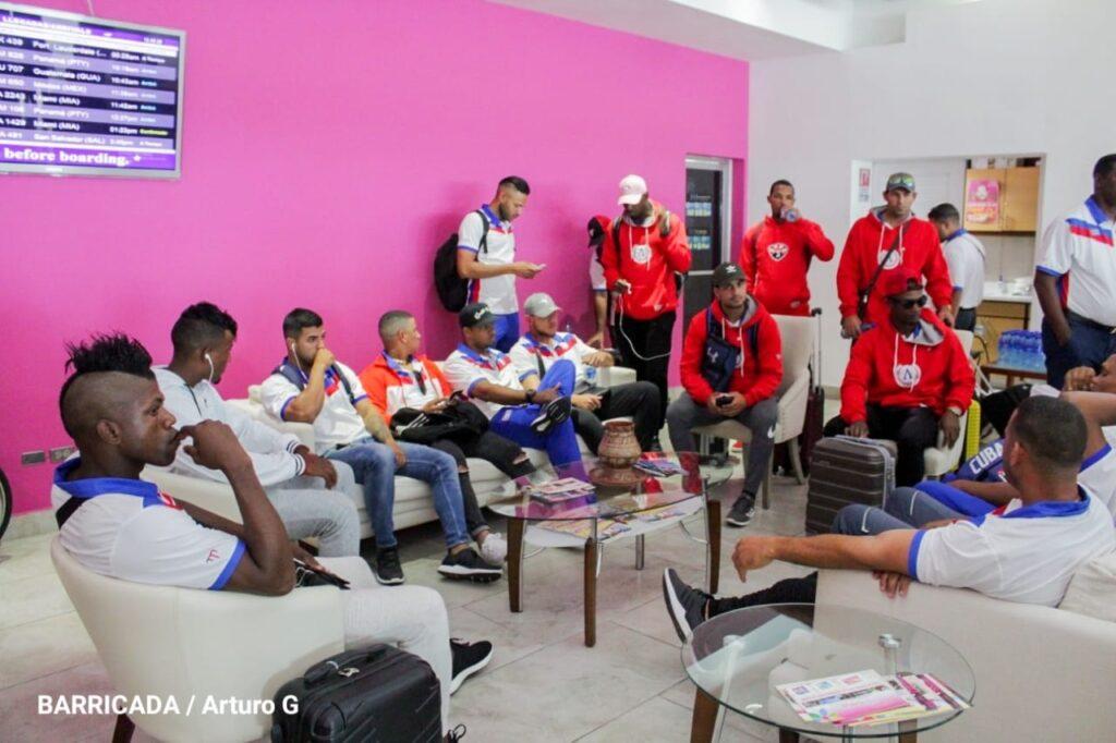 Nos sentimos muy contentos de estar nuevamente en Nicaragua, declaró el manager cubano