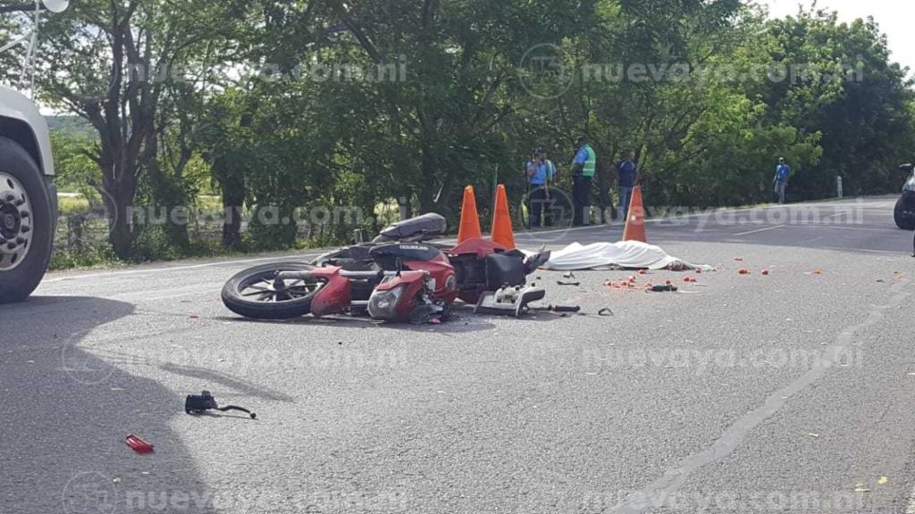 Muerto en accidente de transito
