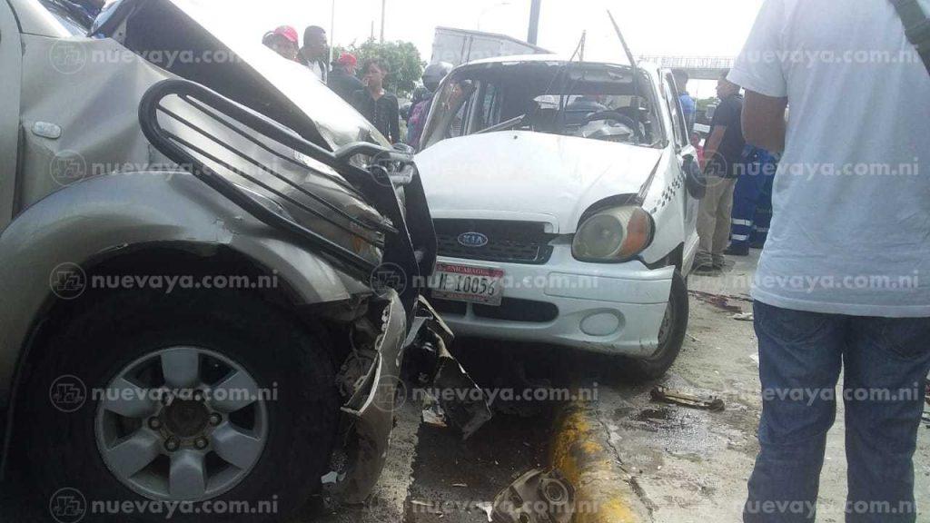 En el mismo accidente otra persona resultó lesionada
