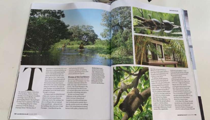 Artículo sobre Nicaragua Revista Wanderlust